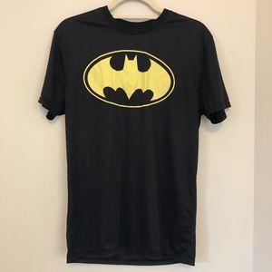 Batman Athletic SS Black Top Medium E58